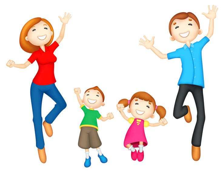 Sons and daughters clipart.