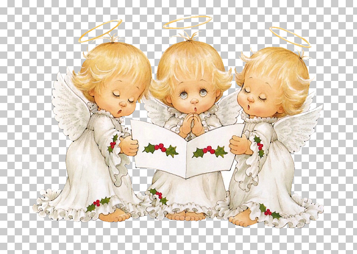 Christmas Angel , Cute Angels Carolers Christmas Free.