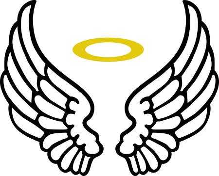 Free collection of Halo clipart angel's wing. Download transparent.