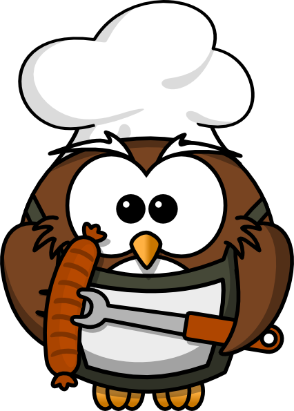 Owl Cook Clip Art at Clker.com.