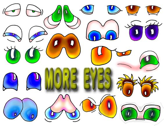 Animal eyes more difficult 5a.