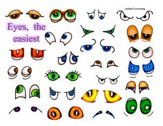 Animal eyes more difficult 4a.