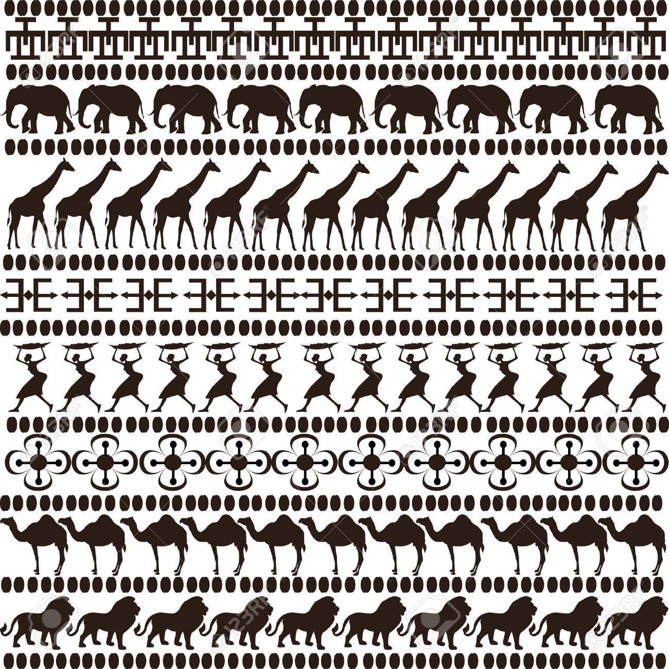 Clipart Animal Print Black And White Goraffe Clipground
