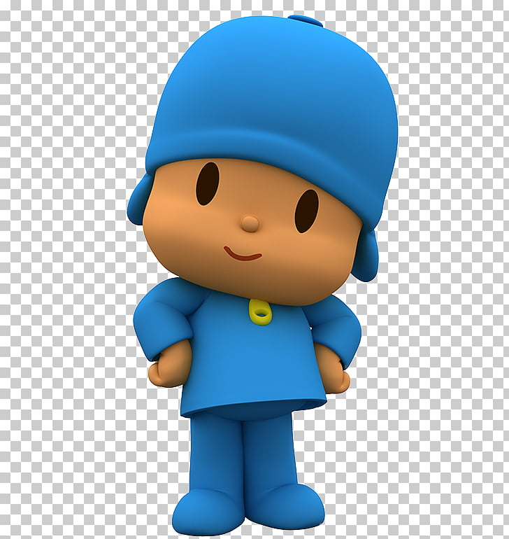 Television Animation , pocoyo, boy wearing blue shirt and.