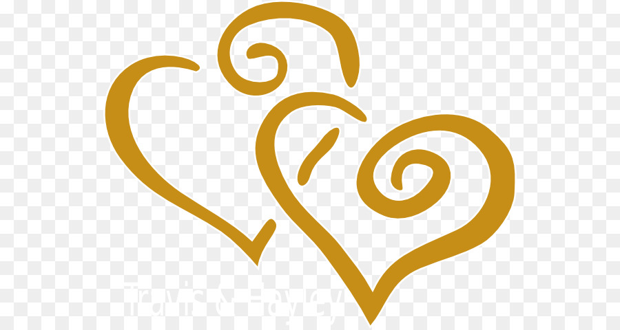 Wedding Invitation Anniversary Clip Art GOLD HEART Png Clean Free.