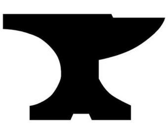 Clipart Anvil Blacksmith.