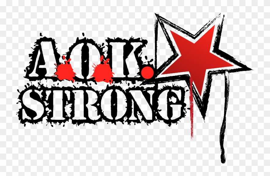 Aok Strong For White Clipart (#2381181).
