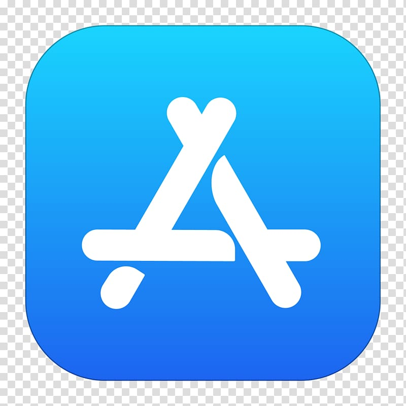 App store iPhone Apple, app store icon transparent background PNG.