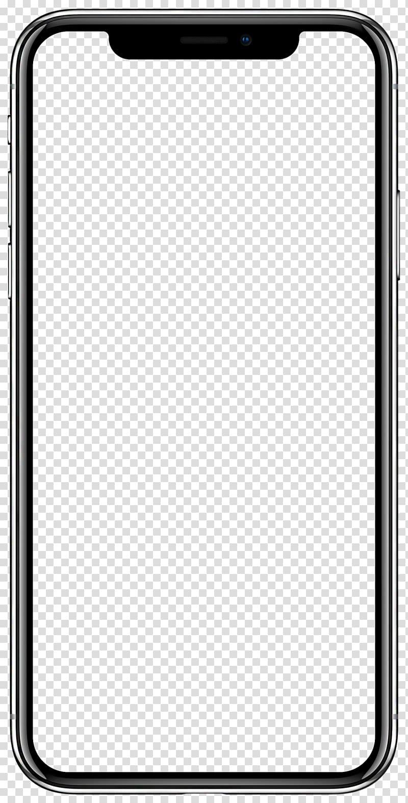 IPhone frame illustration, iPhone X App Store Apple iOS 11, apple.