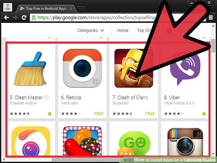 How to Install Apps on a Samsung Galaxy (with Pictures).