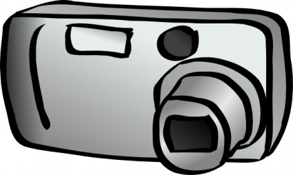 Clipart appareil photo 5 » Clipart Station.