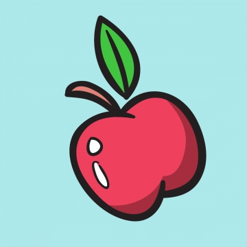 Apple Slice PNG Images.