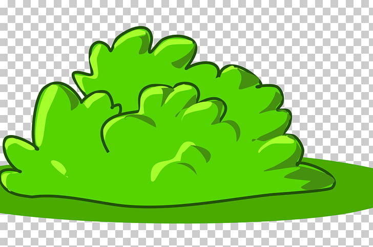 Shrub , cartoon grass PNG clipart.