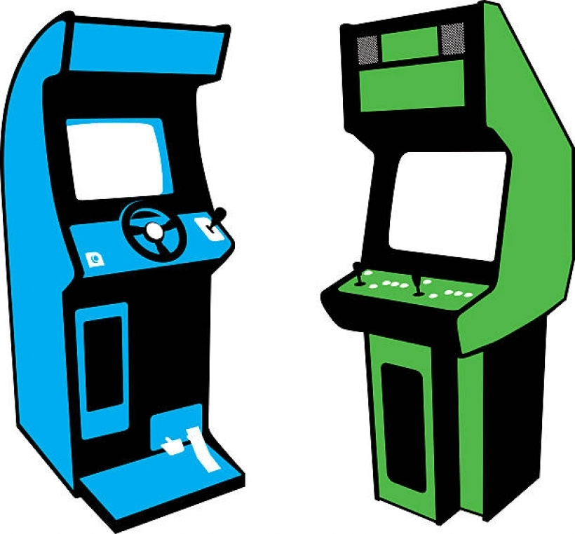 Video game clipart arcade games pencil and in color video.
