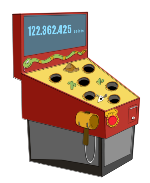 Free to Use &, Public Domain Arcade Machine Clip Art.
