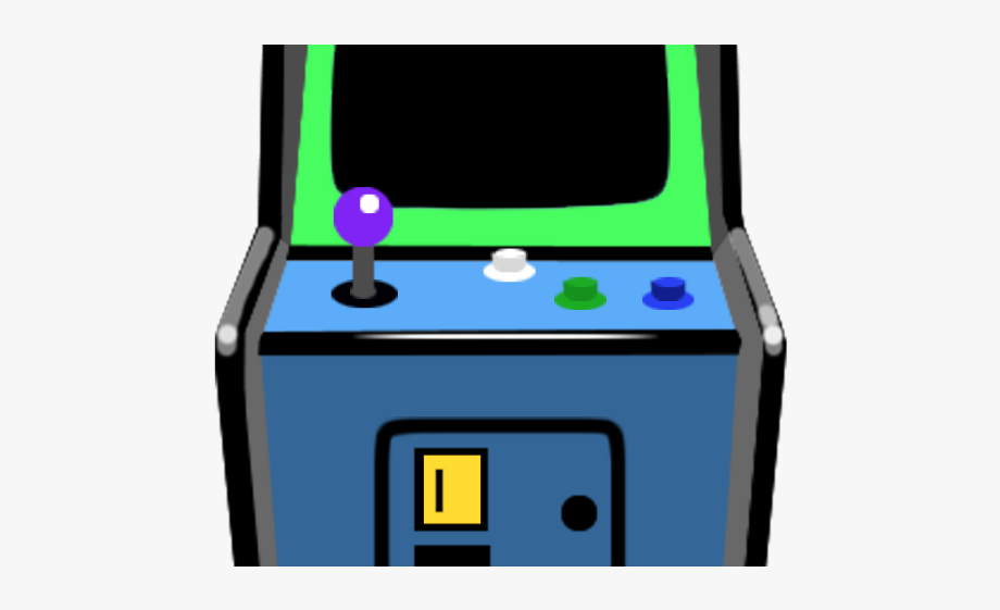 Machine Clipart Arcade Cabinet.