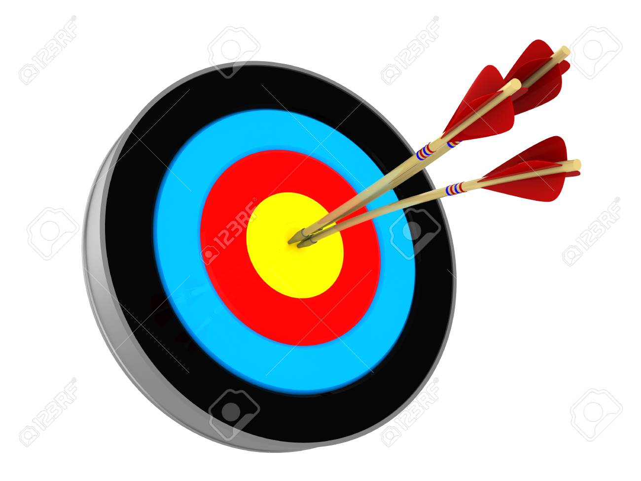 Archery target » Clipart Station.