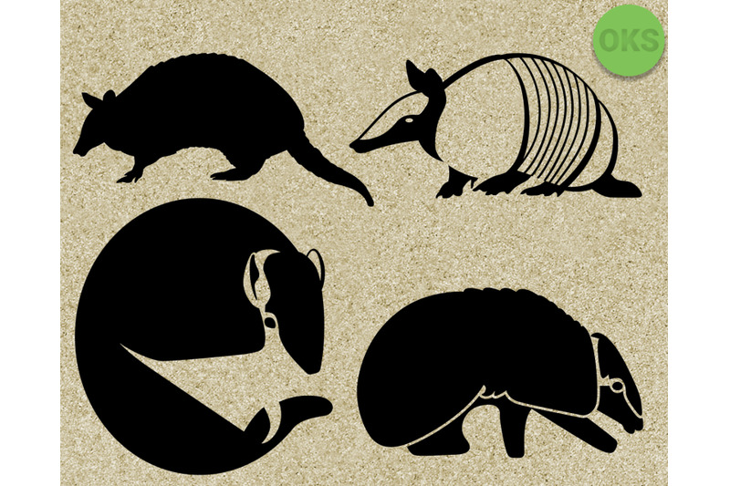 armadillo svg, svg files, vector, clipart, cricut, download By.