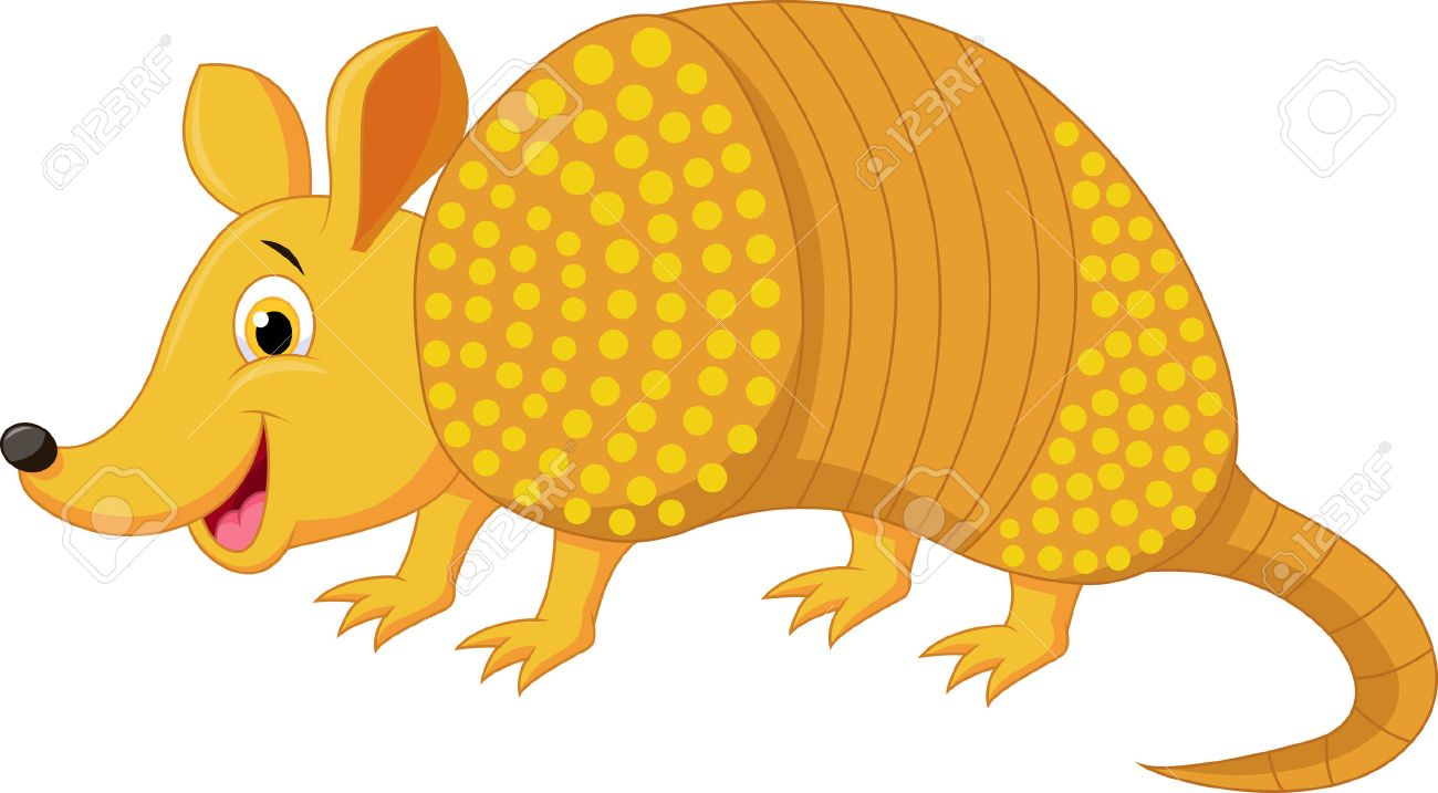 Armadillo clipart 5 » Clipart Station.