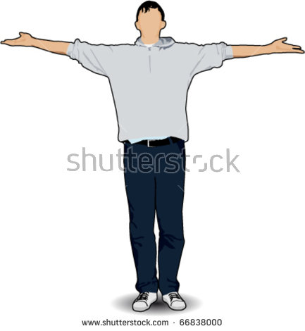Arms Outstretched Stock Vectors, Images & Vector Art.