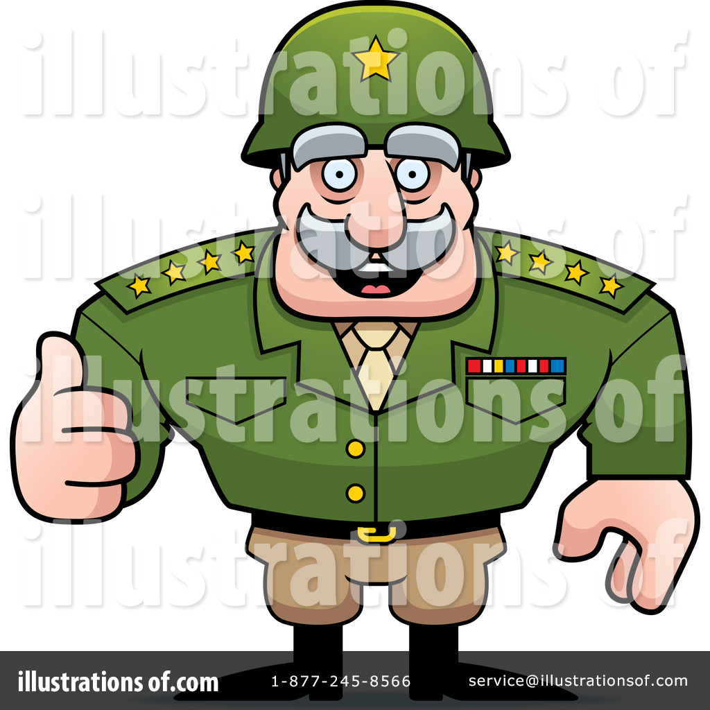 Army General Clipart #1259808.