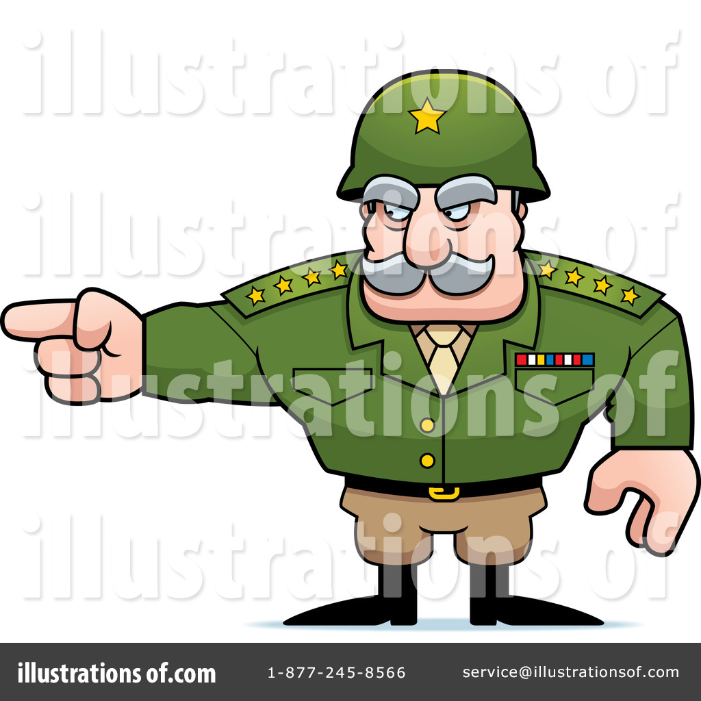 Army General Clipart #1259802.
