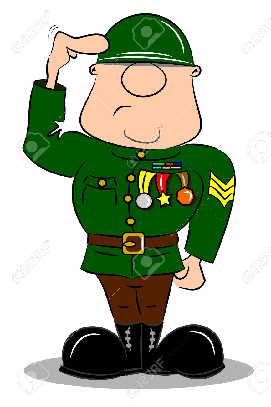 Military clipart army general, Military army general.