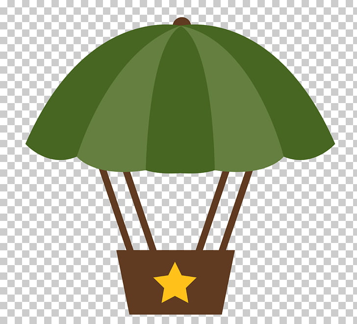 Military Army Parachute Soldier , topper PNG clipart.