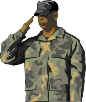 Free Army Soldier Cliparts in AI, SVG, EPS or PSD.