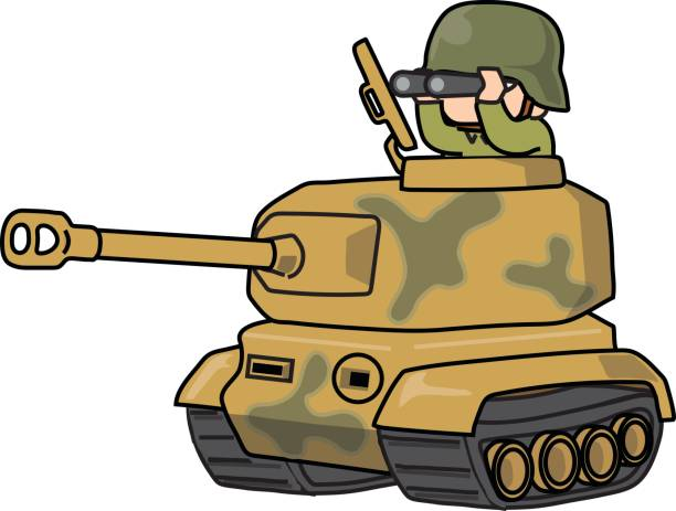 Army Tanker Clipart.