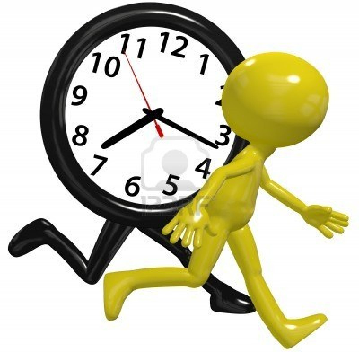 Arrive On Time Clipart.