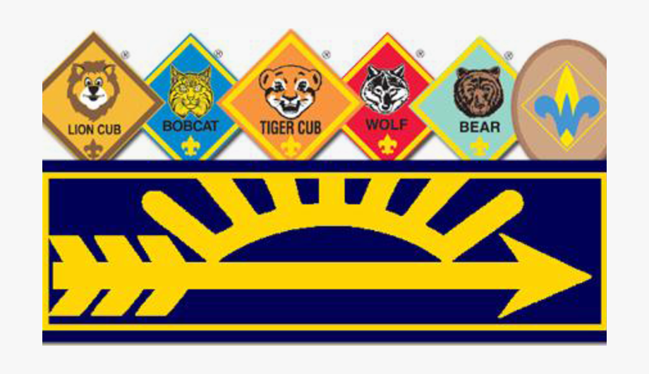 Cub Scouts Arrow Of Light Badge, Cliparts & Cartoons.