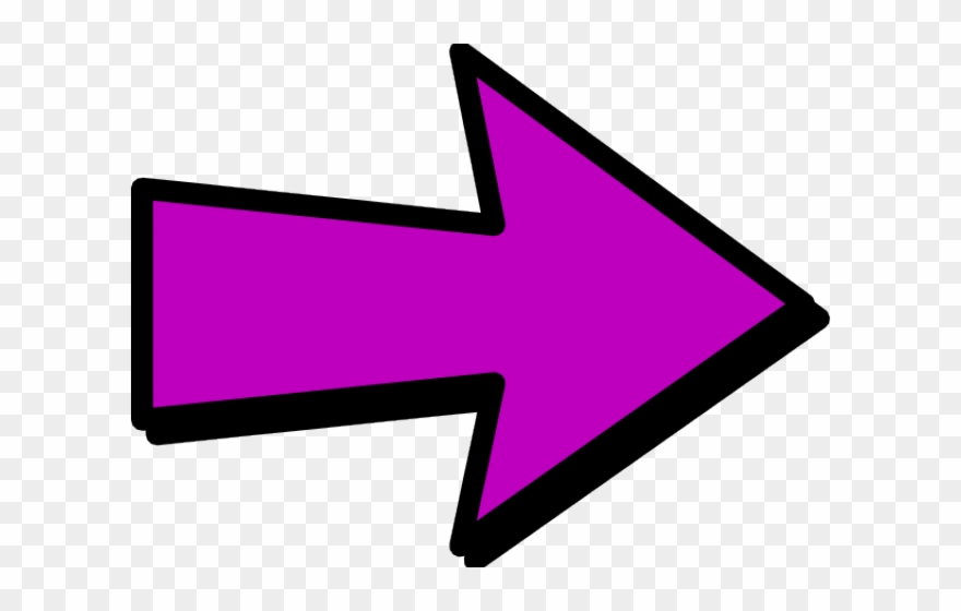 Arrows Clipart Purple.