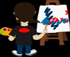 Artist Painting Clip Art at Clker.com.