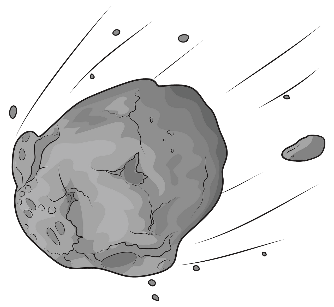 Asteroid clipart. Free download..