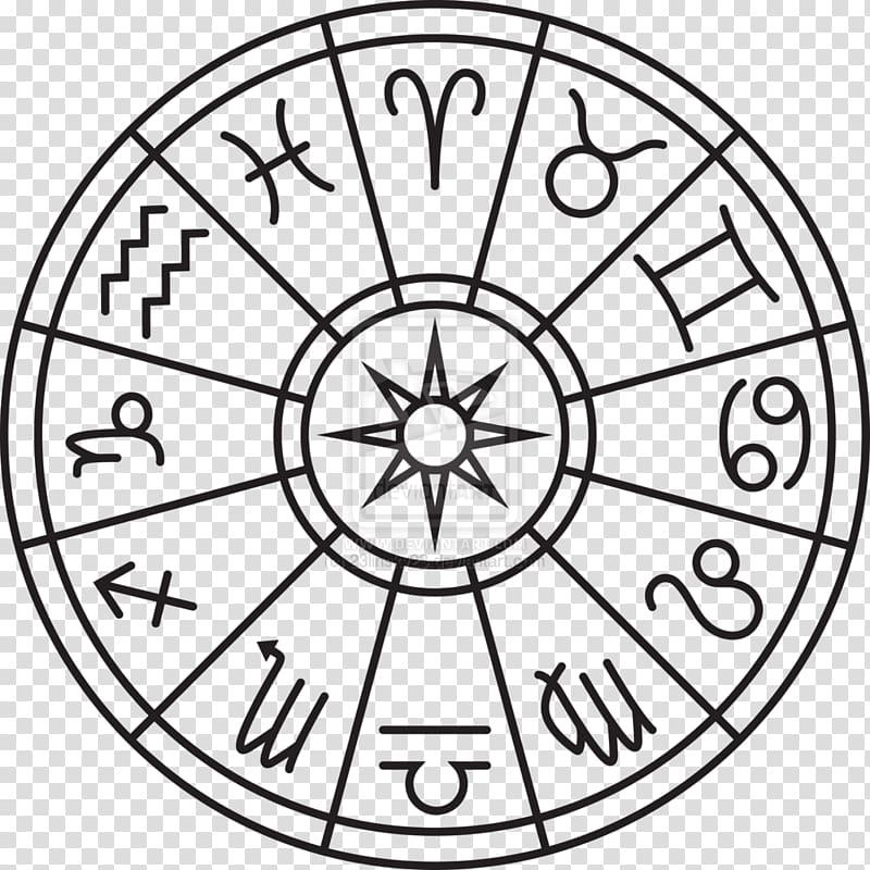 Zodiac sign illustration, Zodiac Astrological sign Horoscope.