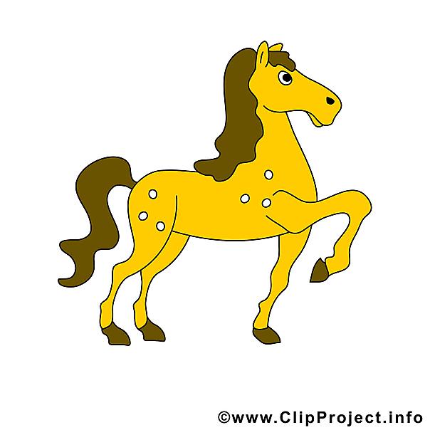 Ross Pferd Bild.