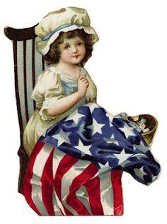 Betsy Ross Clipart.