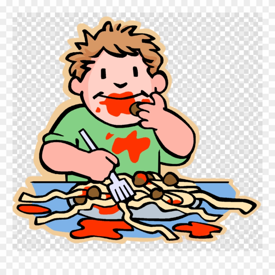 Messy Kids Eating Clipart Eating Child Clip Art.