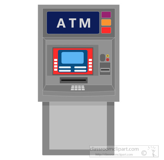 Bank clipart atm clipart, Bank atm Transparent FREE for.