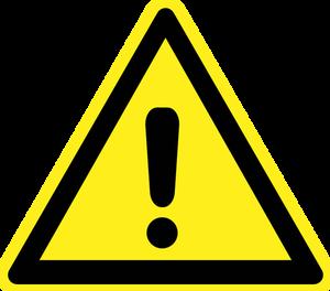 10890 free warning symbol clip art.