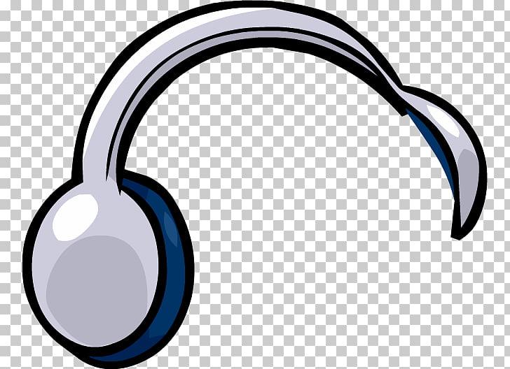 Club Penguin Headphones , Audifonos PNG clipart.