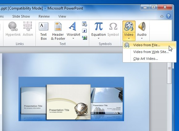 Use Of Audio And Video in PowerPoint Presentation Slides.