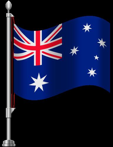 Australia Flag PNG Clip Art.