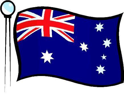 Clipart Australian Flag.