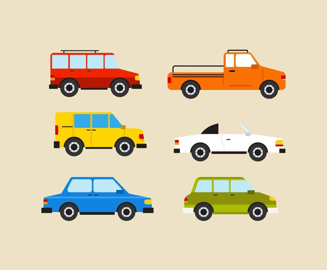 Cars Clipart Vector Vector Art & Graphics.