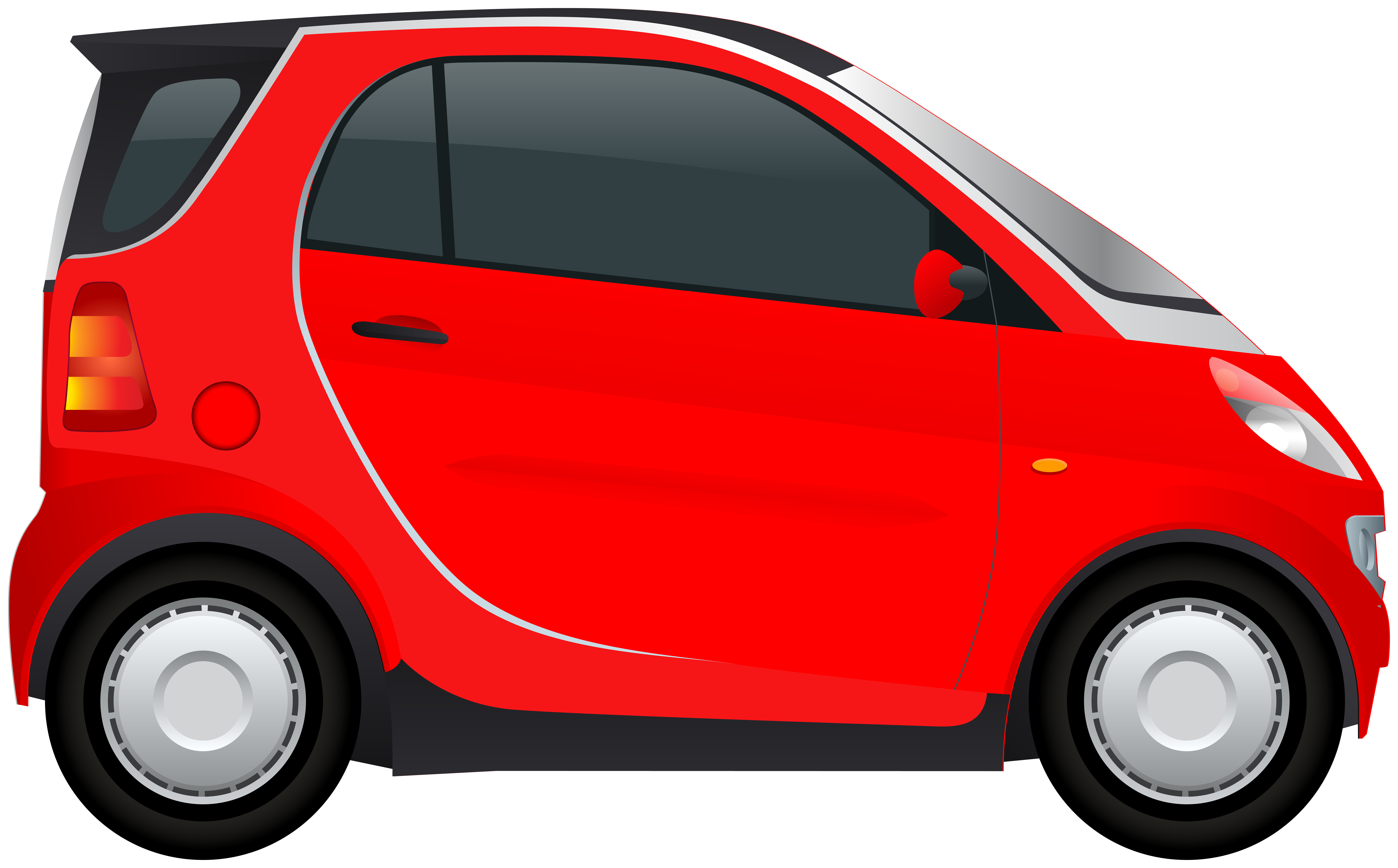 Red Mini Car PNG Clipart.