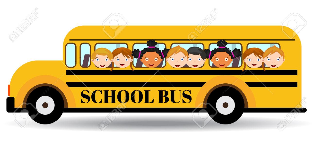 Autobus scolaire clipart 9 » Clipart Station.