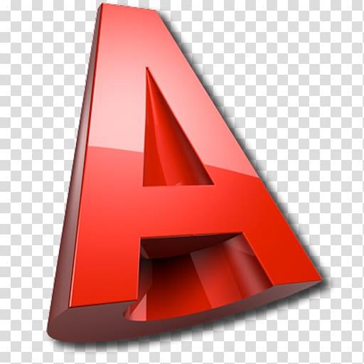 Red A logo, AutoCAD 2013 .dwg Autodesk Revit Logo, design.