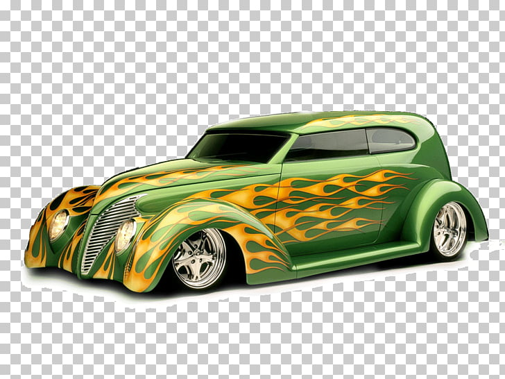 Auto show Classic car , hot rod PNG clipart.